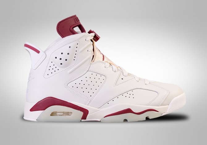 NIKE AIR JORDAN 6 RETRO MAROON BG (SMALLER SIZES)