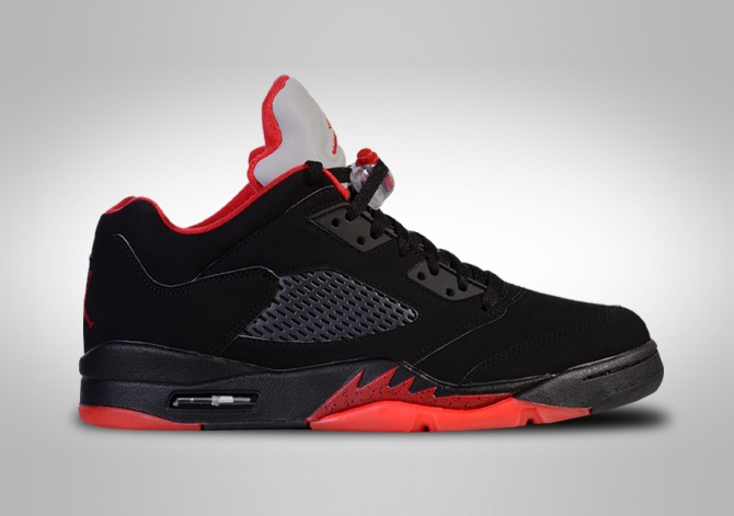 NIKE AIR JORDAN 5 RETRO LOW ALTERNATE '90 GS (SMALLER SIZE)