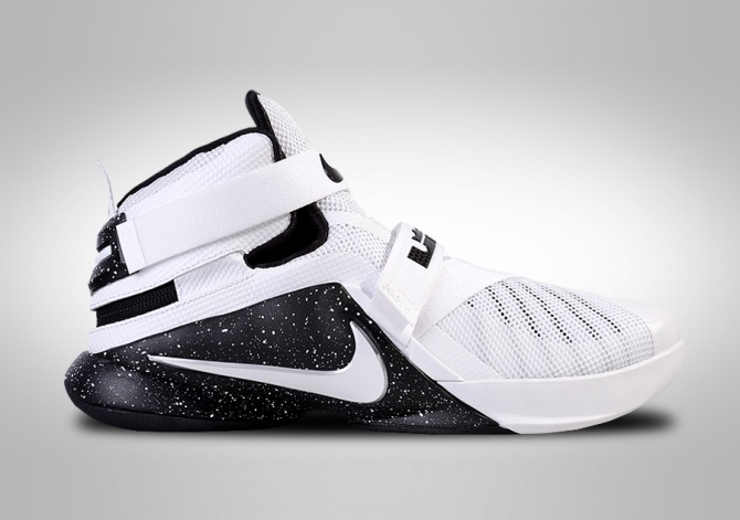 NIKE LEBRON SOLDIER IX FLYEASE LIMITED EDITION BLACK&WHITE