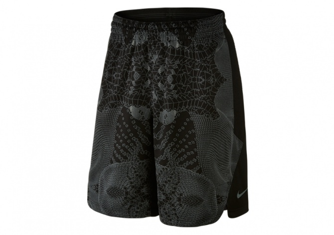 NIKE KOBE HYPERELITE PROTECT SHORTS TUMBLED GREY BLACK