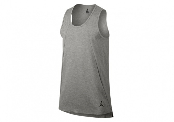 NIKE AIR JORDAN 23 LUX EXTENDED TANK GREY HEATHER