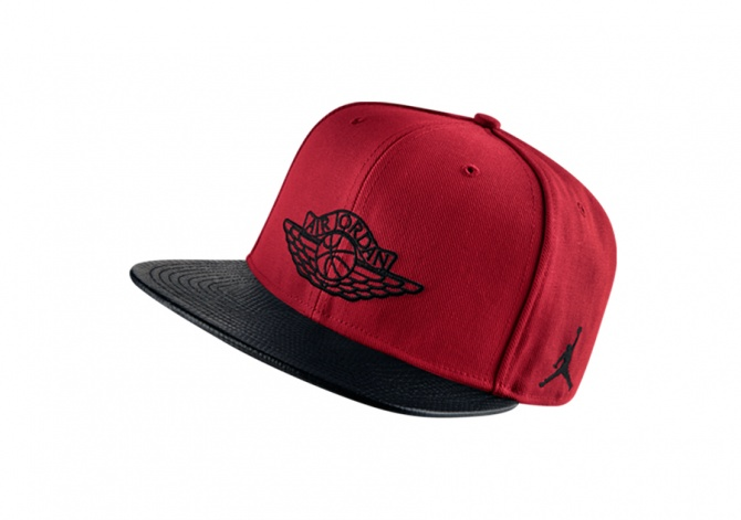 NIKE AIR JORDAN 2 SNAPBACK GYM RED
