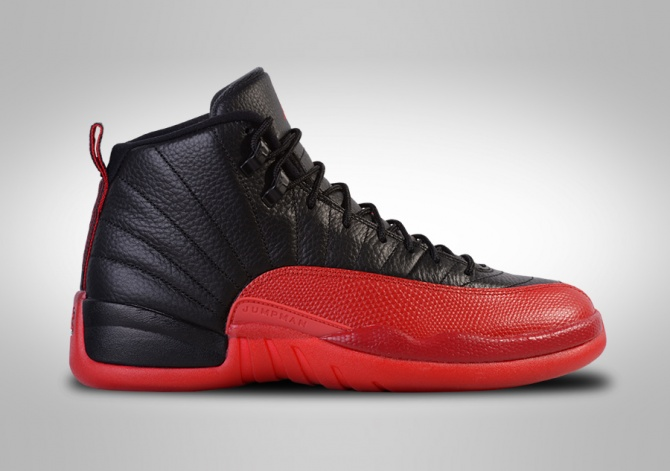 NIKE AIR JORDAN 12 RETRO FLU GAME BG (SMALLER SIZE)