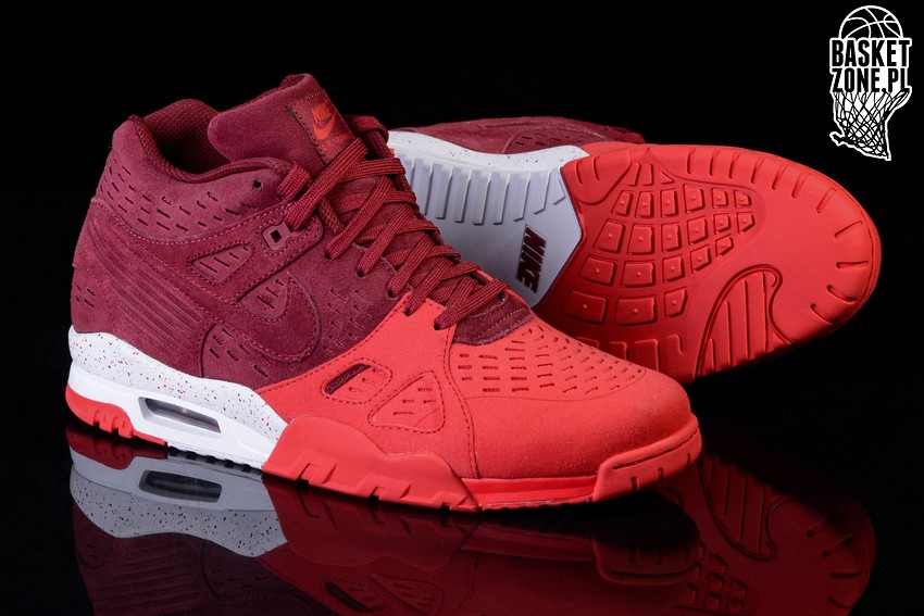 timeless design 8563c 13876 NIKE AIR TRAINER 3 LEATHER  TEAM RED