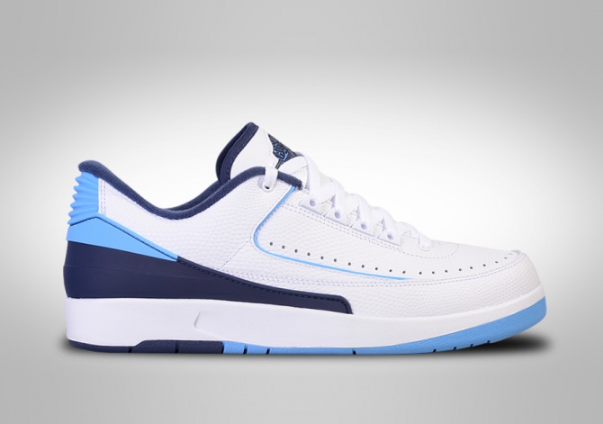 NIKE AIR JORDAN 2 RETRO LOW UNC MIDNIGHT NAVY