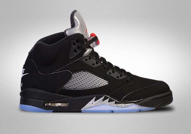 NIKE AIR JORDAN 5 RETRO OG BLACK METALLIC BG