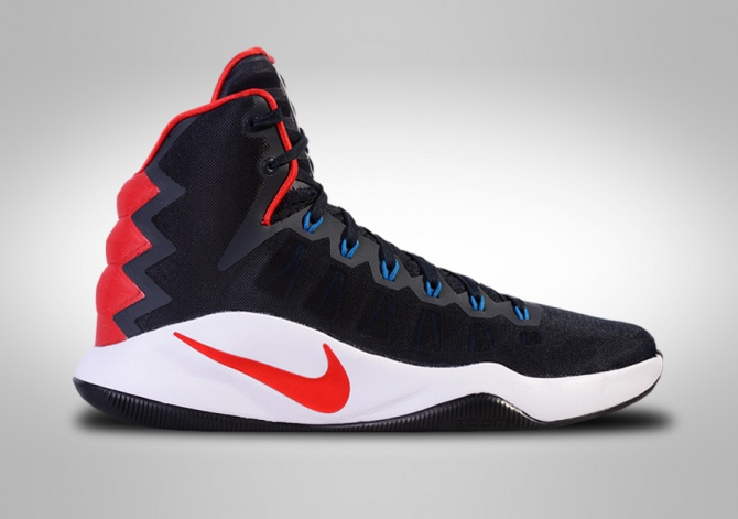 NIKE HYPERDUNK 2016 USAB USA BASKETBALL AWAY GS (SMALLER SIZE)