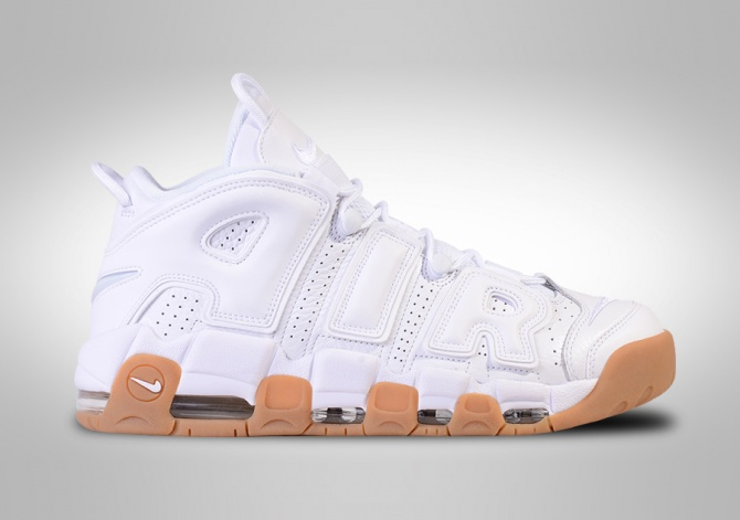 NIKE AIR MORE UPTEMPO OG RETRO WHITE GUM SCOTTIE PIPPEN 1996