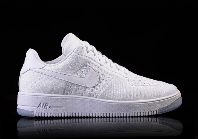 NIKE AIR FORCE 1 ULTRA FLYKNIT LOW WHITE-ICE