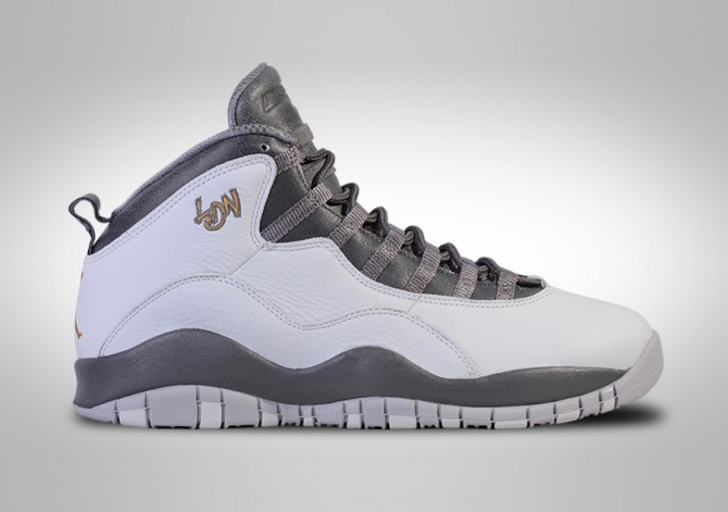 NIKE AIR JORDAN 10 RETRO LONDON CITY PACK BG (SMALLER SIZE)