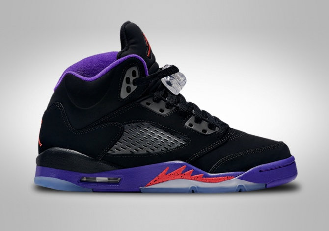 NIKE AIR JORDAN 5 RETRO RAPTORS GG (SMALLER SIZE)
