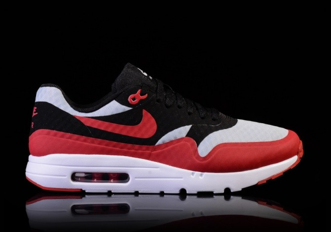 79bf98afa07 NIKE AIR MAX 1 ULTRA ESSENTIAL GYM RED-BLACK-WHITE por €117