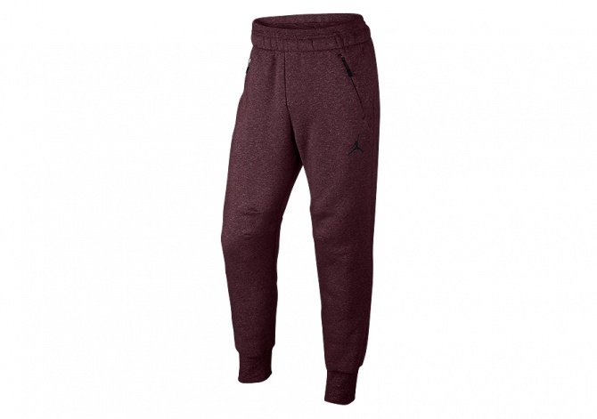 NIKE AIR JORDAN ICON FLEECE WC PANT NIGHT MAROON
