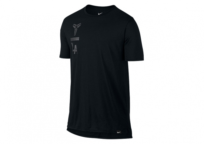 NIKE KOBE ART DROPTAIL TEE BLACK