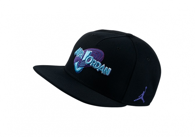 NIKE AIR JORDAN SPACE JAM SNAPBACK BLACK CONCORD