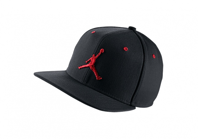 NIKE AIR JORDAN JUMPMAN SNAPBACK BLACK