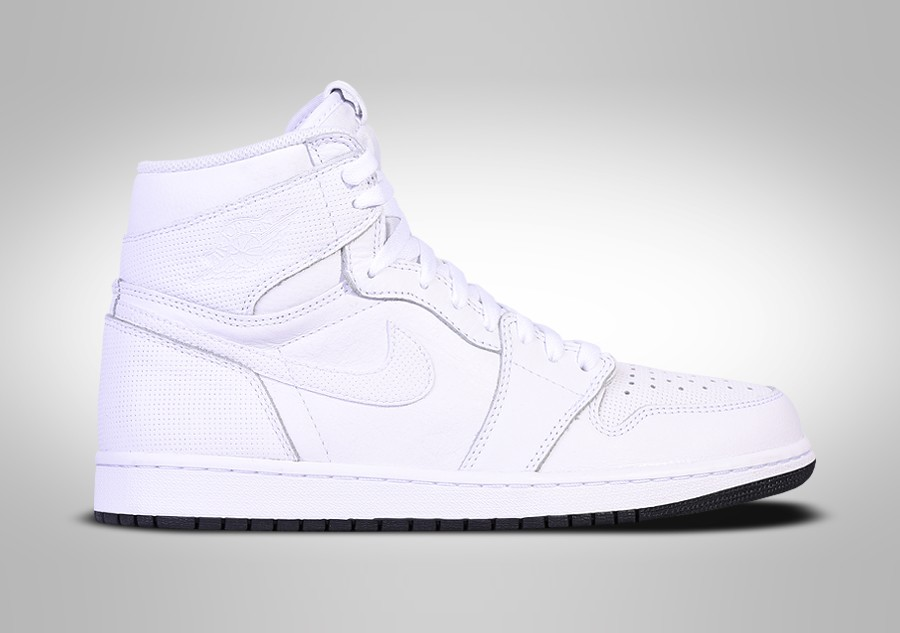 3f9f3edec90d NIKE AIR JORDAN 1 RETRO HIGH OG WHITE PERFORATED PACK price €117.50 ...