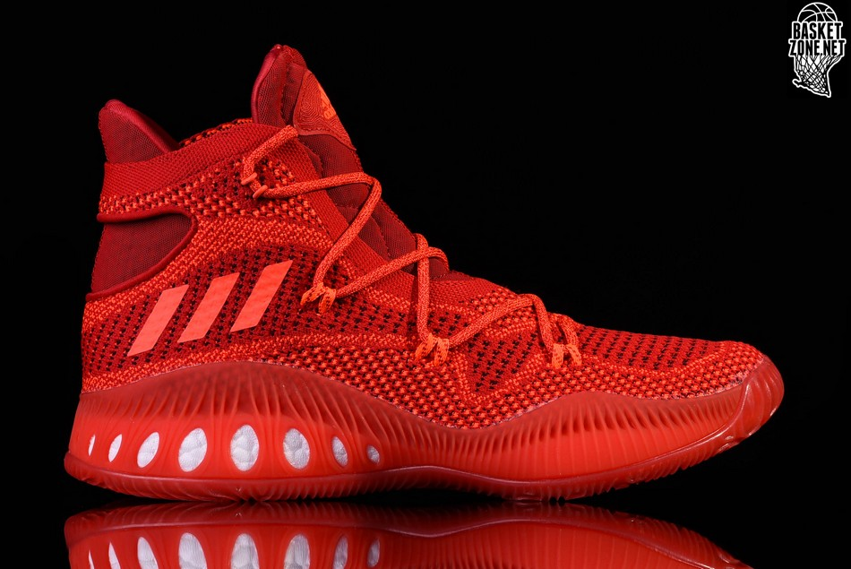cheap for discount bd208 09cdd ADIDAS CRAZY EXPLOSIVE PRIMEKNIT SOLAR RED