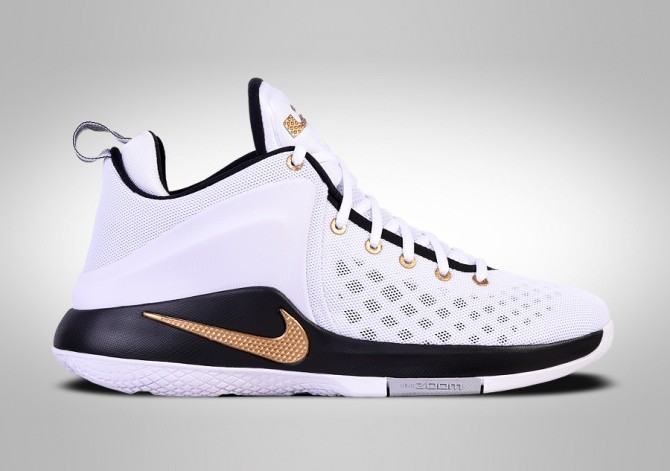 competitive price e3a2a 0c89b NIKE LEBRON ZOOM WITNESS GOLD KING CROWN