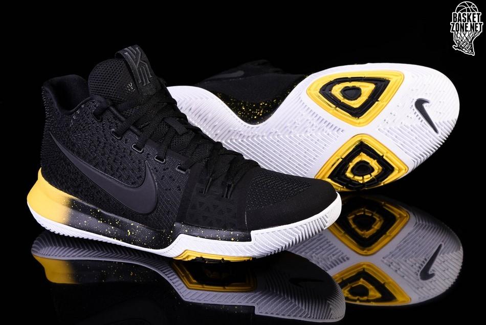 sports shoes f1ddf d808b NIKE KYRIE 3 BLACK YELLOW price €105.00 | Basketzone.net