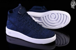 on sale 0fc64 f5a95 ... shopping nike air force 1 ultra flyknit mid college navy dc0c8 92e34