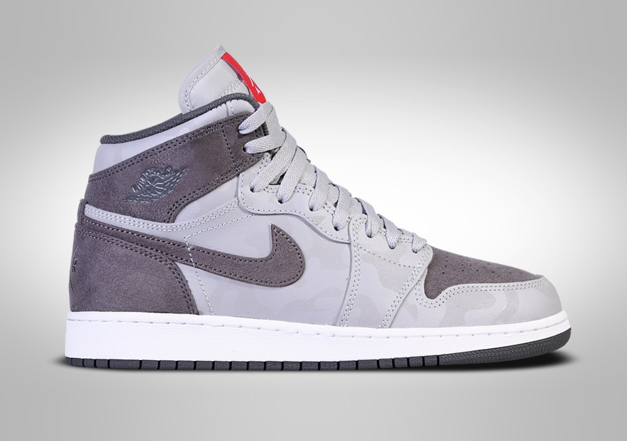 low priced 5c95b c4999 ... ireland nike air jordan 1 retro high premium gs wolf grey 0915b 69f4c