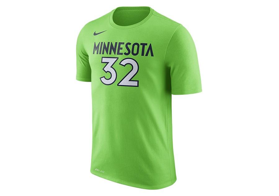 Nike Nba Minnesota Timberwolves Dry Tee N N Action Green Price