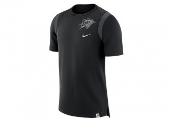 NIKE NBA OKLAHOMA CITY THUNDER TOP BLACK ANTHRACITE