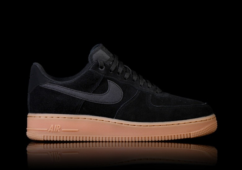 official photos 0edb7 535ee NIKE AIR FORCE 1 07 LV8 SUEDE BLACK