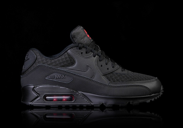 buy online 3288e c9dd8 NIKE AIR MAX 90 ESSENTIAL BLACK