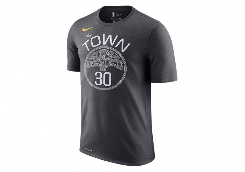 d757629e303 NIKE NBA GOLDEN STATE WARRIORS STEPHEN CURRY DRY TEE ANTHRACITE price  €27.50 | Basketzone.net