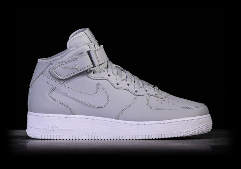 NIKE AIR FORCE 1 MID '07 WOLF GREY