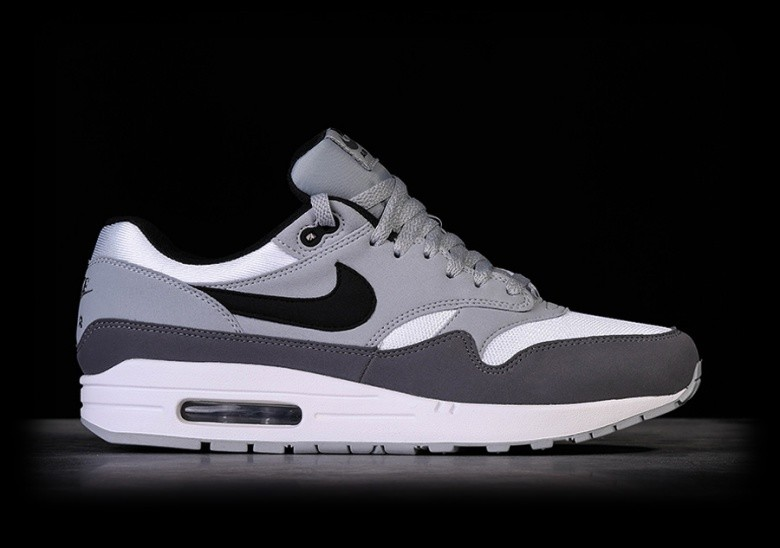 NIKE AIR MAX 1 WHITE WOLF GREY