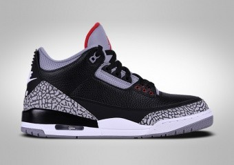new concept 9b63d 8e614 BASKETBALL SHOES. NIKE AIR JORDAN 3 RETRO BLACK CEMENT