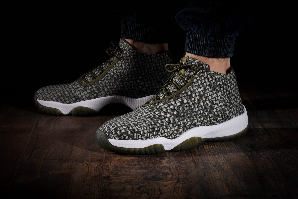 new styles 60ae7 0a61d AIR JORDAN FUTURE DARK GREEN