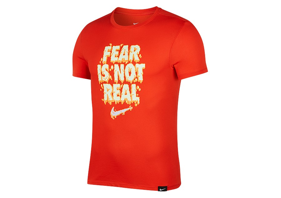 brand new 5b4ce 998c3 NIKE KYRIE IRVING FEAR IS NOT REAL DRY TEE HABANERO RED price €32.50    Basketzone.net