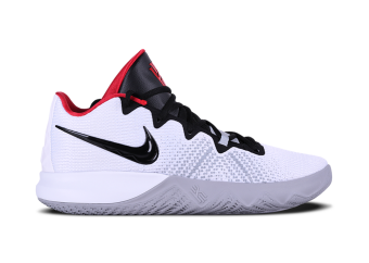 fba8d920da50 NIKE KYRIE FLYTRAP. WHITE BLACK UNIVERSITY RED