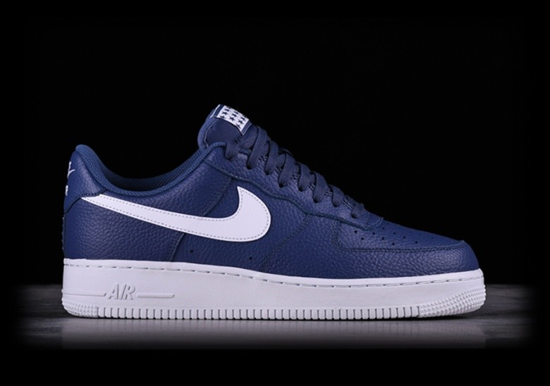 cheap for discount b93e1 829d1 NIKE AIR FORCE 1  07 BLUE RECALL