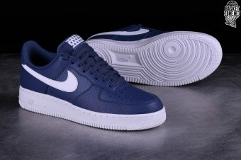 free shipping bf402 64017 NIKE AIR FORCE 1 '07 BLUE RECALL pour €89,00   Basketzone.net