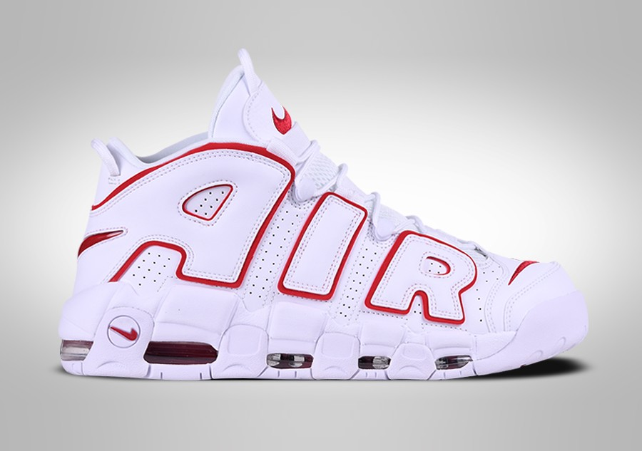 low priced 855e2 4c4b1 NIKE AIR MORE UPTEMPO  96 WHITE VARSITY RED