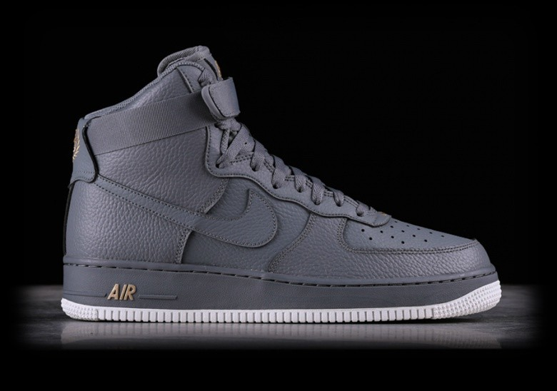 new style 82ab4 98d1e NIKE AIR FORCE 1 HIGH 07 COOL GREY