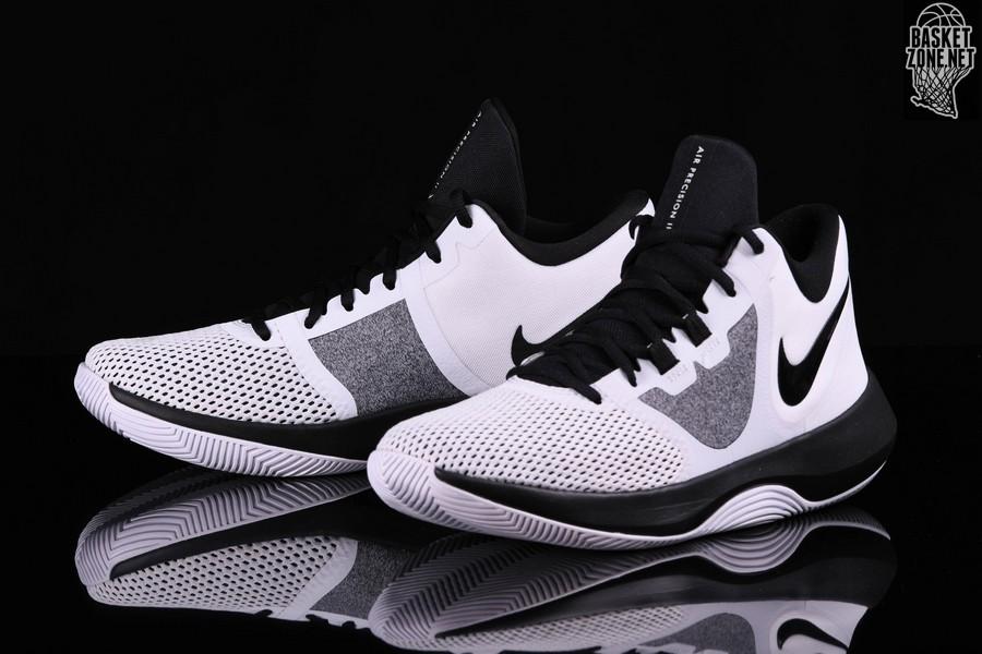 sports shoes d2e43 57aa5 NIKE AIR PRECISION II WHITE BLACK price €57.50  Basketzone.n