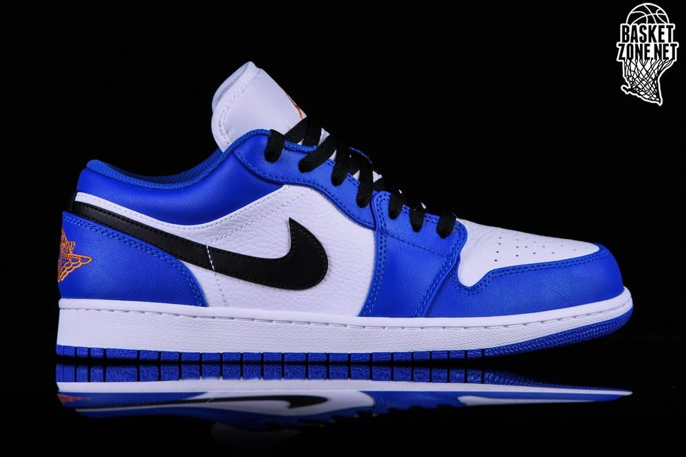 air jordan 1 low blu