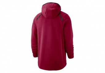 2852110e70b4 NIKE NBA CLEVELAND CAVALIERS DRY SHOWTIME HOODIE TEAM RED. 940868-677