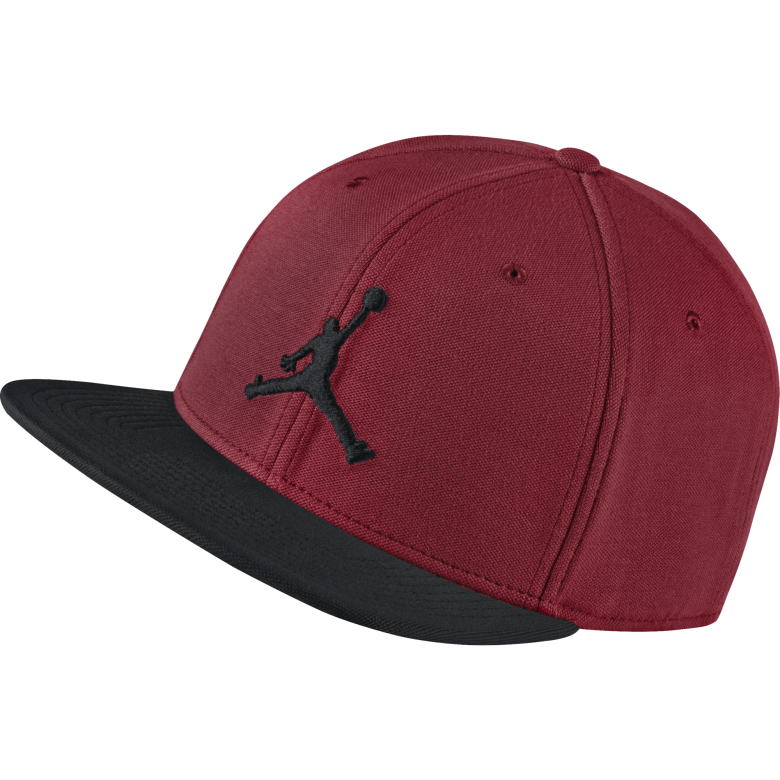 52aae701a6e AIR JORDAN JUMPMAN SNAPBACK HAT. GYM RED BLACK. £20.00