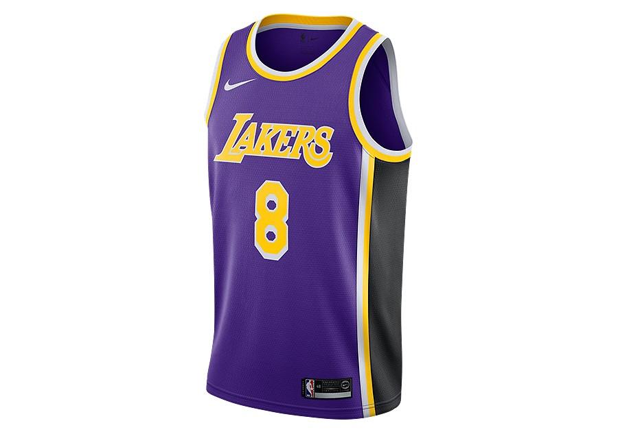 the best attitude aa31f e8a15 NIKE NBA LOS ANGELES LAKERS KOBE BRYANT SWINGMAN JERSEY FIELD PURPLE pour  €92,50   Basketzone.net