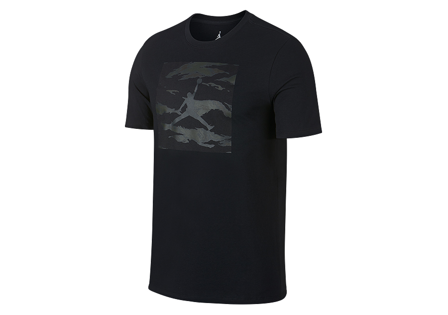 NIKE AIR JORDAN ICONIC 237 TEE BLACK