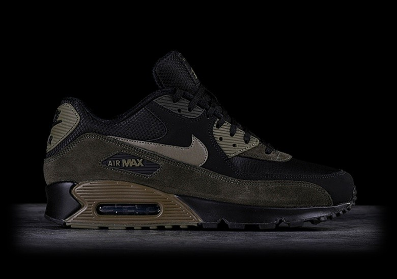 e70ef6ba0c5 NIKE AIR MAX 90 LEATHER MEDIUM OLIVE per €127