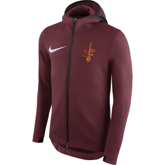 NIKE NBA CLEVELAND CAVALIERS THERMAFLEX SHOWTIME HOODIE