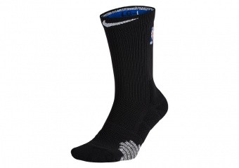 NIKE QUICK CREW - NBA SOCKS BLACK